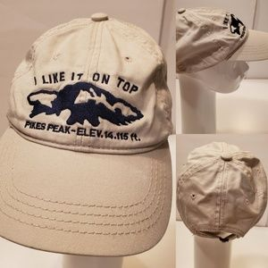 PIKE'S PEAK | I LIKE IT ON TOP embroidered HAT